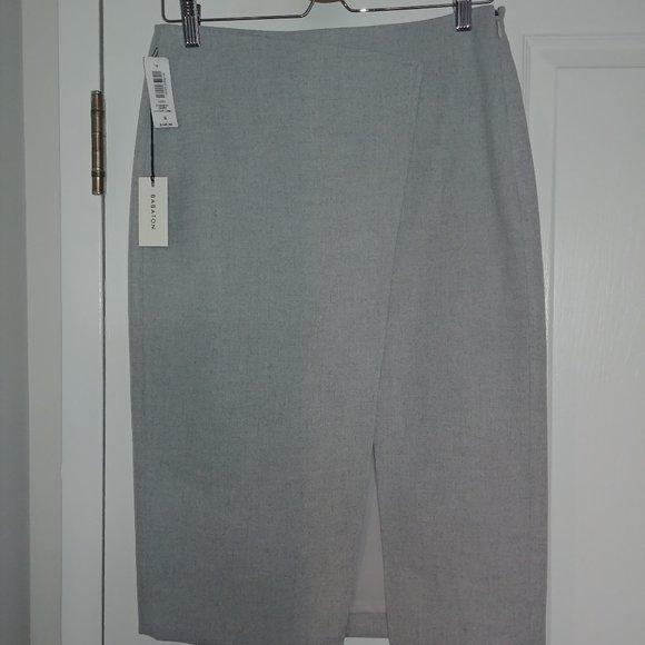 Aritzia Babaton Forrest Skirt Heather Comet Size 8